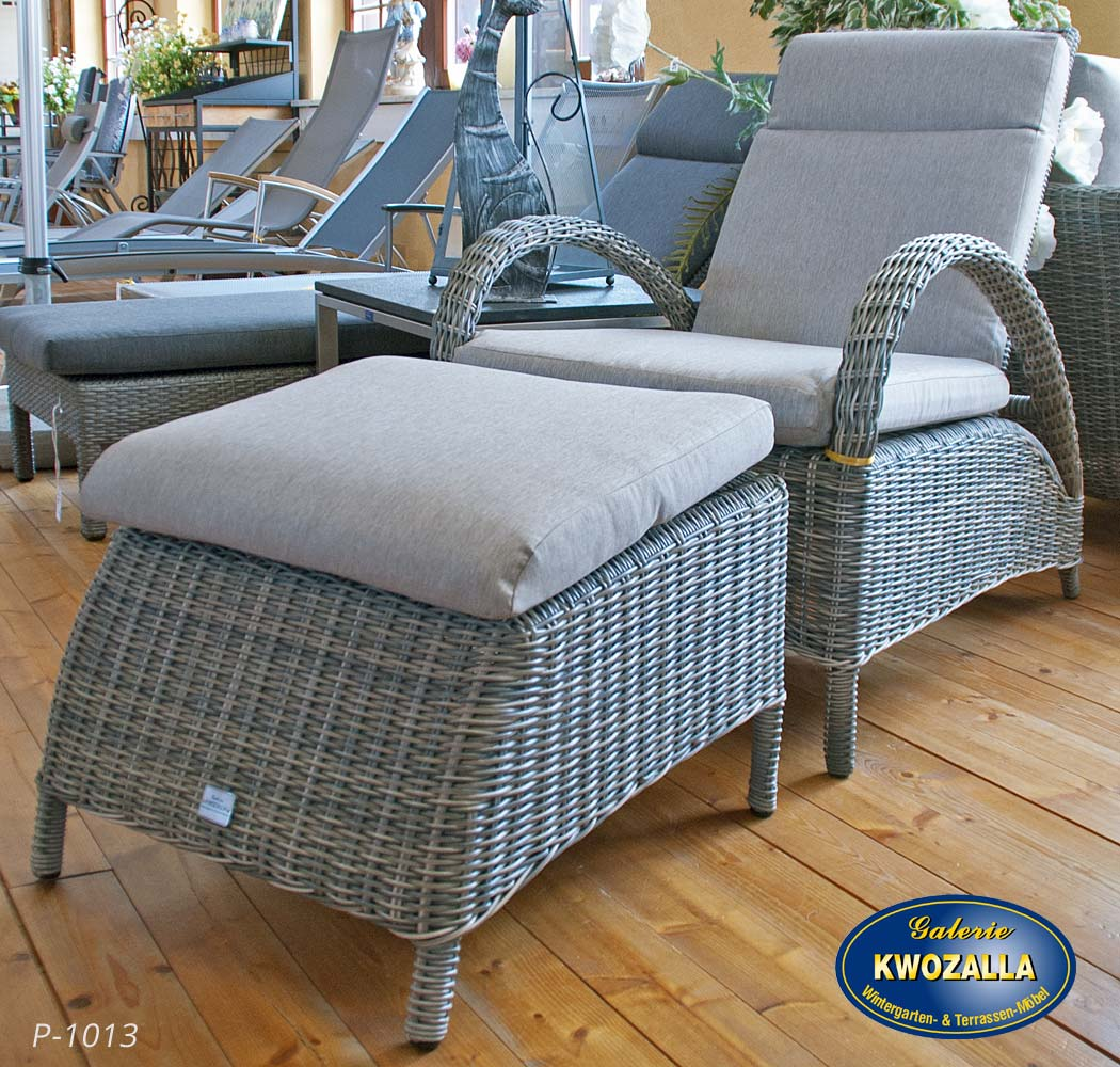 gartenm bel sessel mit hocker williamflooring. Black Bedroom Furniture Sets. Home Design Ideas