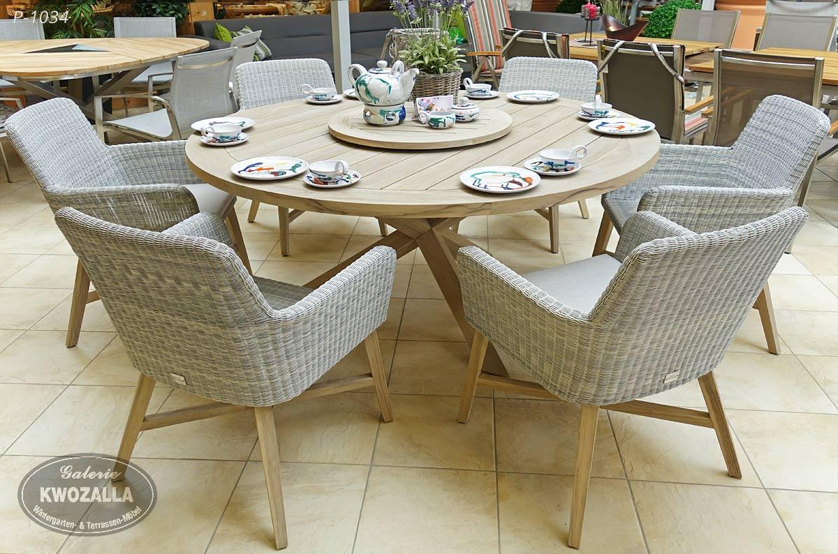 Gartenstühle rattan rund  Gartenmöbel für exklusive Ansprüche - Galerie Kwozalla
