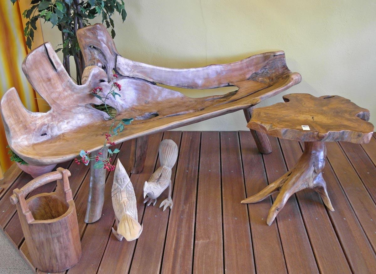 Gartenbänke - aus Teak-Holz, Metall. Edelstahl, Polyrattan - Galerie ...