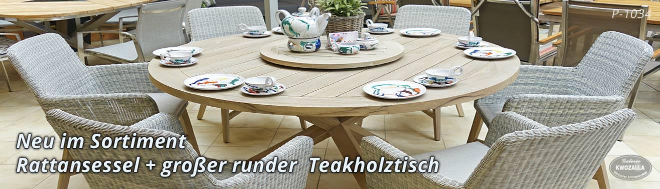 Charmant Gartenmöbel Aus Polyrattan U0026 Teak Für Ihre Terrasse .